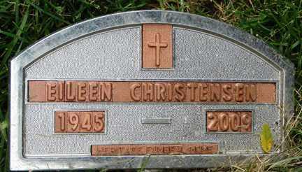 CHRISTENSEN, EILEEN - Minnehaha County, South Dakota | EILEEN CHRISTENSEN - South Dakota Gravestone Photos