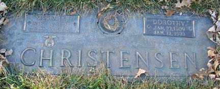 CHRISTENSEN, DOROTHY - Minnehaha County, South Dakota | DOROTHY CHRISTENSEN - South Dakota Gravestone Photos