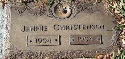 CHRISTENSEN, JENNIE - Minnehaha County, South Dakota | JENNIE CHRISTENSEN - South Dakota Gravestone Photos