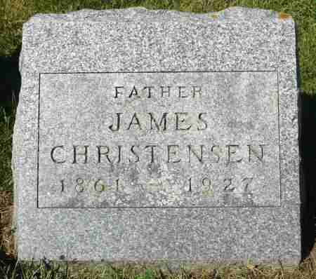 CHRISTENSEN, JAMES - Minnehaha County, South Dakota | JAMES CHRISTENSEN - South Dakota Gravestone Photos