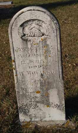CHRISTENSEN, JORGEN - Minnehaha County, South Dakota | JORGEN CHRISTENSEN - South Dakota Gravestone Photos