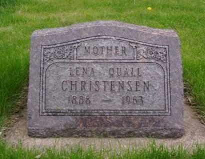 REMME CHRISTENSEN, LENA - Minnehaha County, South Dakota | LENA REMME CHRISTENSEN - South Dakota Gravestone Photos