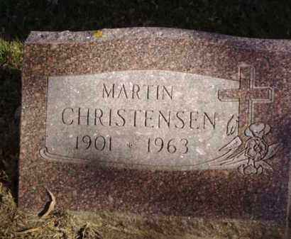 CHRISTENSEN, MARTIN - Minnehaha County, South Dakota   MARTIN CHRISTENSEN - South Dakota Gravestone Photos