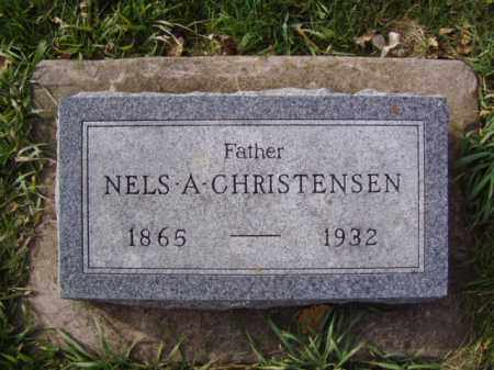 CHRISTENSEN, NELS A. - Minnehaha County, South Dakota | NELS A. CHRISTENSEN - South Dakota Gravestone Photos