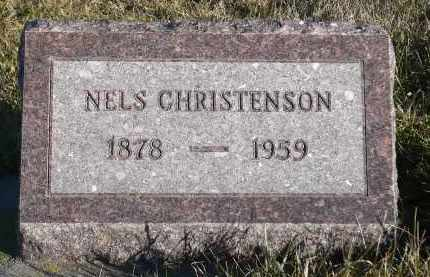 CHRISTENSEN, NELS - Minnehaha County, South Dakota | NELS CHRISTENSEN - South Dakota Gravestone Photos