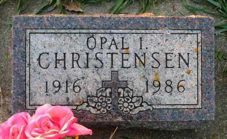 CHRISTENSEN, OPAL I. - Minnehaha County, South Dakota   OPAL I. CHRISTENSEN - South Dakota Gravestone Photos