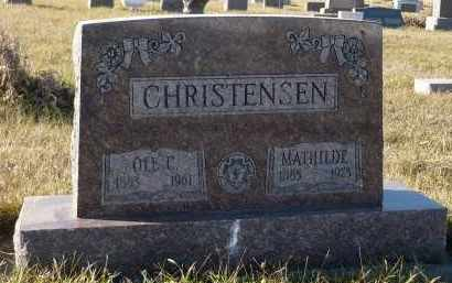 CHRISTENSEN, OLE C. - Minnehaha County, South Dakota | OLE C. CHRISTENSEN - South Dakota Gravestone Photos