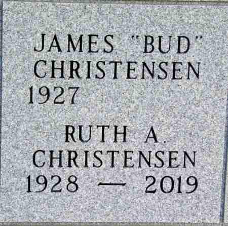 CHRISTENSEN, JAMES - Minnehaha County, South Dakota   JAMES CHRISTENSEN - South Dakota Gravestone Photos
