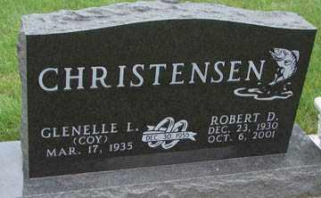 CHRISTENSEN, ROBERT D. - Minnehaha County, South Dakota | ROBERT D. CHRISTENSEN - South Dakota Gravestone Photos