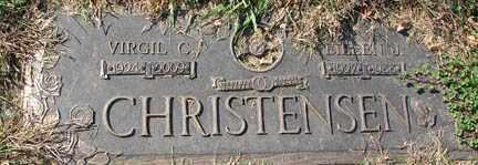CHRISTENSEN, VIRGIL CLARENCE - Minnehaha County, South Dakota | VIRGIL CLARENCE CHRISTENSEN - South Dakota Gravestone Photos