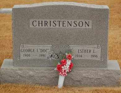 "CHRISTENSON, GEORGE I.  ""DOC"" - Minnehaha County, South Dakota 
