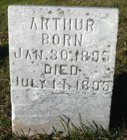 CHRISTIONSON, ARTHUR - Minnehaha County, South Dakota | ARTHUR CHRISTIONSON - South Dakota Gravestone Photos