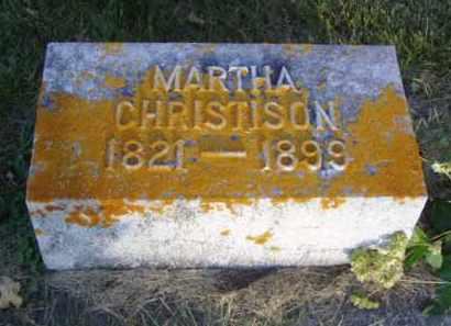 CHRISTISON, MARTHA - Minnehaha County, South Dakota | MARTHA CHRISTISON - South Dakota Gravestone Photos