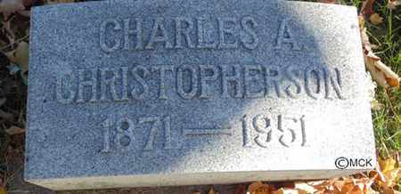 CHRISTOPHERSON, CHARLES A. - Minnehaha County, South Dakota | CHARLES A. CHRISTOPHERSON - South Dakota Gravestone Photos