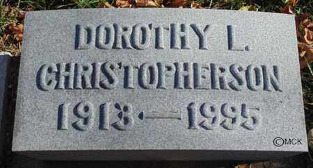 CHRISTOPHERSON, DOROTHY L. - Minnehaha County, South Dakota | DOROTHY L. CHRISTOPHERSON - South Dakota Gravestone Photos