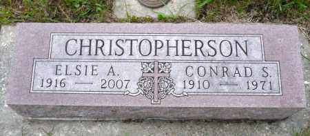 ANDERSON CHRISTOPHERSON, ELSIE A. - Minnehaha County, South Dakota | ELSIE A. ANDERSON CHRISTOPHERSON - South Dakota Gravestone Photos