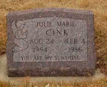 CINK, JULIE MARIE - Minnehaha County, South Dakota | JULIE MARIE CINK - South Dakota Gravestone Photos