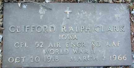 CLARK, CLIFFORD RALPH - Minnehaha County, South Dakota | CLIFFORD RALPH CLARK - South Dakota Gravestone Photos