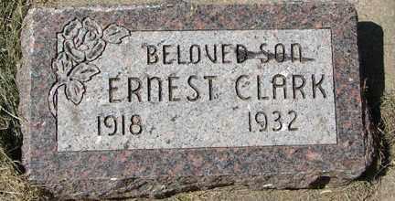 CLARK, ERNEST - Minnehaha County, South Dakota | ERNEST CLARK - South Dakota Gravestone Photos