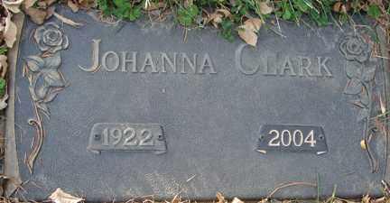 CLARK, JOHANNA - Minnehaha County, South Dakota | JOHANNA CLARK - South Dakota Gravestone Photos