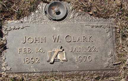 CLARK, JOHN W. - Minnehaha County, South Dakota | JOHN W. CLARK - South Dakota Gravestone Photos