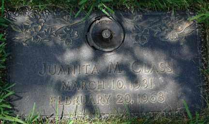 CLASS, JUANITA M. - Minnehaha County, South Dakota | JUANITA M. CLASS - South Dakota Gravestone Photos