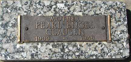 ENGEL CLAUSEN, PEARL - Minnehaha County, South Dakota | PEARL ENGEL CLAUSEN - South Dakota Gravestone Photos