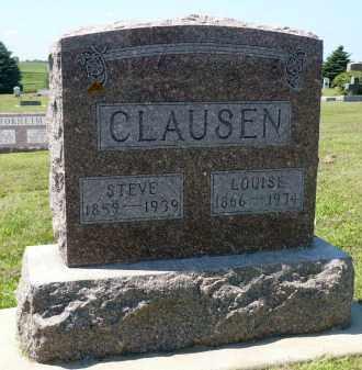 CLAUSEN, LOUISE - Minnehaha County, South Dakota   LOUISE CLAUSEN - South Dakota Gravestone Photos