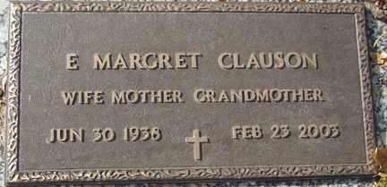 CLAUSON, ETHEL MARGARET - Minnehaha County, South Dakota | ETHEL MARGARET CLAUSON - South Dakota Gravestone Photos