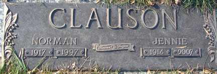 CLAUSON, NORMAN - Minnehaha County, South Dakota | NORMAN CLAUSON - South Dakota Gravestone Photos