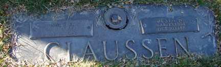 CLAUSSEN, WILLIAM F.A. - Minnehaha County, South Dakota | WILLIAM F.A. CLAUSSEN - South Dakota Gravestone Photos