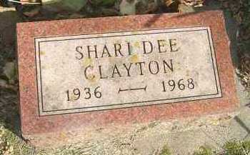 CLAYTON, SHARI DEE - Minnehaha County, South Dakota | SHARI DEE CLAYTON - South Dakota Gravestone Photos
