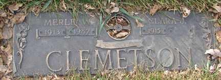 CLEMETSON, CLARA J. - Minnehaha County, South Dakota | CLARA J. CLEMETSON - South Dakota Gravestone Photos