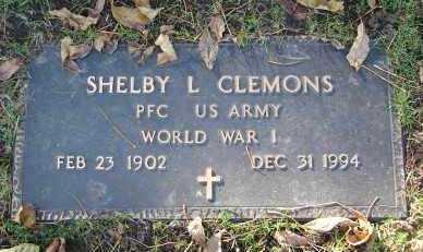 CLEMONS, SHELBY L. - Minnehaha County, South Dakota | SHELBY L. CLEMONS - South Dakota Gravestone Photos