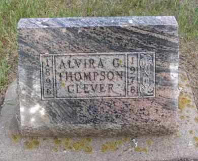 THOMPSON CLEVER, ALVIRA GENEVA - Minnehaha County, South Dakota | ALVIRA GENEVA THOMPSON CLEVER - South Dakota Gravestone Photos