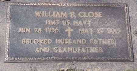 CLOSE, WILLIAM R. - Minnehaha County, South Dakota   WILLIAM R. CLOSE - South Dakota Gravestone Photos