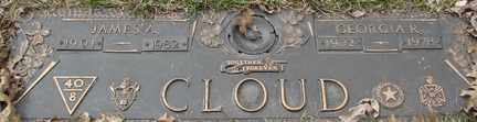 CLOUD, JAMES A. - Minnehaha County, South Dakota | JAMES A. CLOUD - South Dakota Gravestone Photos