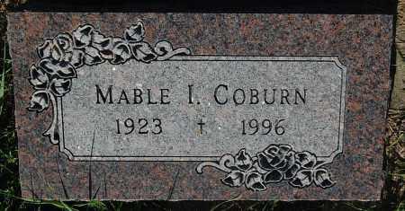 COBURN, MABLE I. - Minnehaha County, South Dakota | MABLE I. COBURN - South Dakota Gravestone Photos