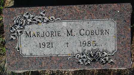 COBURN, MARJORIE M. - Minnehaha County, South Dakota | MARJORIE M. COBURN - South Dakota Gravestone Photos