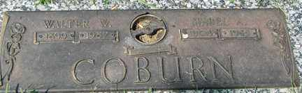 COBURN, MABEL A. - Minnehaha County, South Dakota   MABEL A. COBURN - South Dakota Gravestone Photos