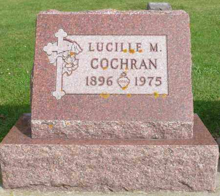 COCHRAN, LUCILLE M. - Minnehaha County, South Dakota | LUCILLE M. COCHRAN - South Dakota Gravestone Photos
