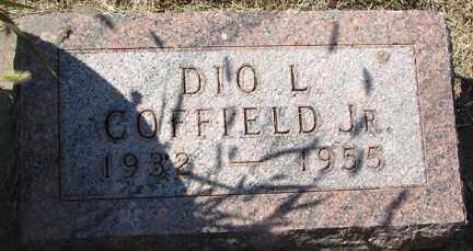 COFFIELD, DIO L. JR. - Minnehaha County, South Dakota | DIO L. JR. COFFIELD - South Dakota Gravestone Photos