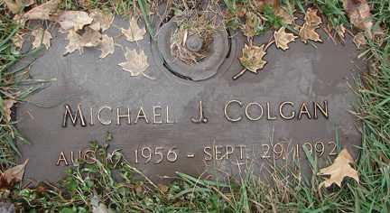 COLGAN, MICHAEL  J. - Minnehaha County, South Dakota | MICHAEL  J. COLGAN - South Dakota Gravestone Photos