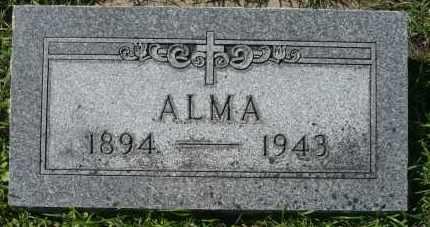 LORDAHL COLLINS, ALMA - Minnehaha County, South Dakota | ALMA LORDAHL COLLINS - South Dakota Gravestone Photos