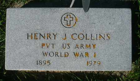 COLLINS, HENRY J. (WWI) - Minnehaha County, South Dakota | HENRY J. (WWI) COLLINS - South Dakota Gravestone Photos