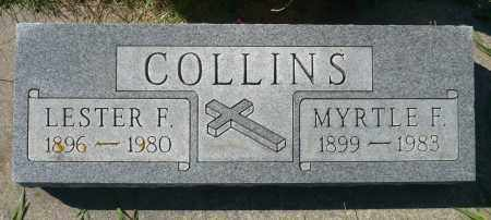 COLLINS, MYRTLE F. - Minnehaha County, South Dakota | MYRTLE F. COLLINS - South Dakota Gravestone Photos