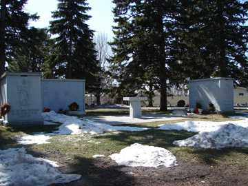 *COLUMBARIUMS, WOOD LAWN CEMETERY - Minnehaha County, South Dakota | WOOD LAWN CEMETERY *COLUMBARIUMS - South Dakota Gravestone Photos