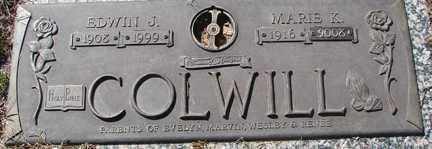 COLWILL, EDWIN J. - Minnehaha County, South Dakota | EDWIN J. COLWILL - South Dakota Gravestone Photos