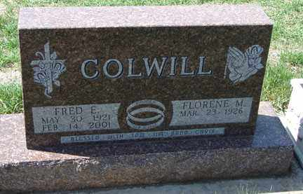 COLWILL, FLORENCE M. - Minnehaha County, South Dakota | FLORENCE M. COLWILL - South Dakota Gravestone Photos