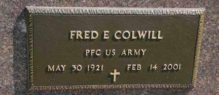 COLWILL, FRED E. - Minnehaha County, South Dakota | FRED E. COLWILL - South Dakota Gravestone Photos